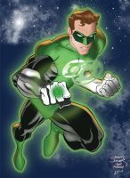 Green Lantern by AndrewJHarmon