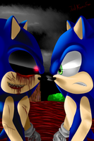 Sonic.exe vs. Sonic the Hedgehog - REMAKE by JustASonicFan