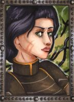 ACEO 38: Lin Bei Fong by Forunth