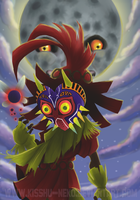 Majora's Mask by Kisshu-Neko