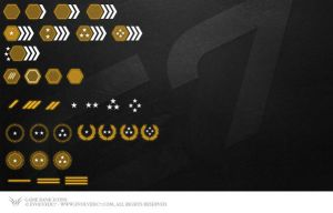 Game Rank Icons by Forza27