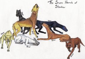 Contest entry- The Hounds by Shadowthorne