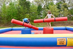 Medway Founder's Day Fun, Bouncy Jousting 8 by Miss-Tbones