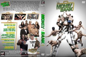 WWE Money in the Bank 2013 DVD Cover V1 by Chirantha