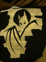 Batman: The Animated Series Bleach Shirt WIP by 8bitsofawesome