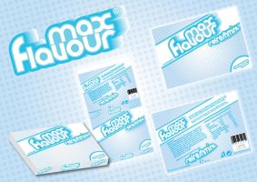 Max Flavour chewing gum by thierry-eamon