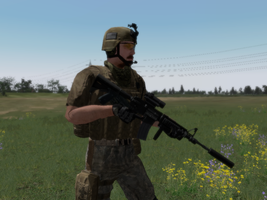 US Special Forces Operator by BillyM12345