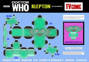 Doctor Who - Klepton Cubee by mikedaws