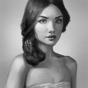 portrait Study by Rob-Joseph