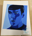 Spock Face Mash Up by Crystal-the-CC