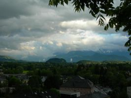 Rainclouds over Salzburg by Fox--Kit