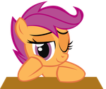 (place cute scootaloo title here) by kuren247