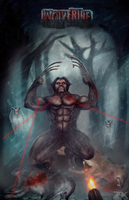 Wolverine A Wolf by berberiot