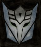 Decepticon Insignia - The Zeroiden by LadyIronhide