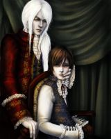 laiden and Aebutus by RomanticFae