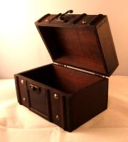 Wooden Chest 02 by fuguestock