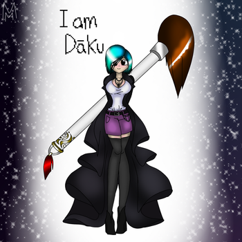I am Daku by MusicMind7