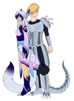 Keara and Damian Itami FLATS by Eclipsed-Soul91