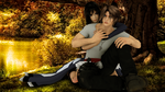 Squall and Rinoa by AthenaAsa