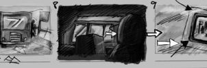 storyboard for horror film03 by yen-wen-hsieh
