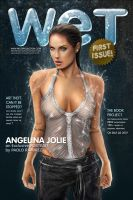 Angelina Jolie Wet Magazine by pbozproduction