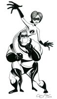 Mr. and Mrs. Incredible by GregMayer