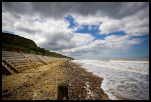 Overstrand Beach Norfolk III by grimleyfiendish