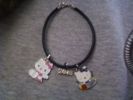 My new charm bracelet by KaylaChan92
