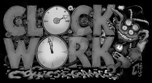 Clock2015bw by MonsterInk