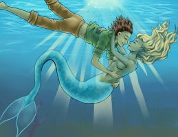 Underwater Romance by fUnKyToEs