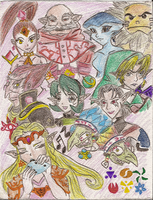 My first Sages Drawing by Ladybrenes