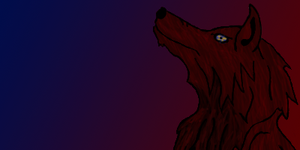 Night-Wolf Newsly Textbox by Alucard-Dracula01