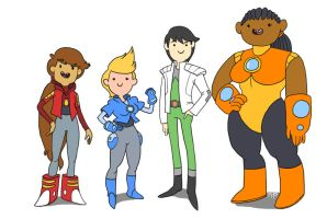 Bravest Warriors - Genderbent by SIRCollection