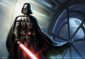 Darth Vader by Mike-Sass