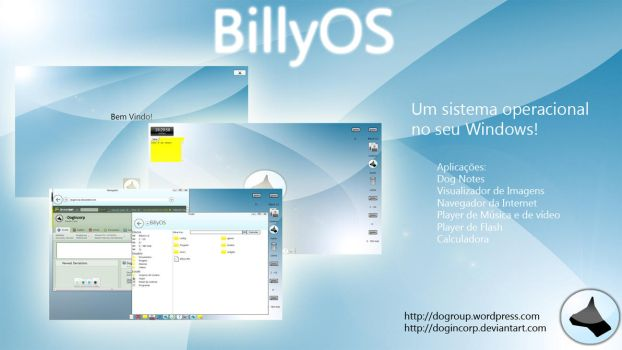 BillyOS 1.0 by Dogincorp