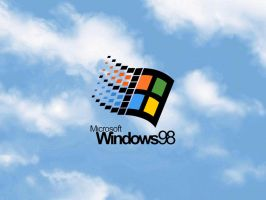 Windows 98 wallpaper by FlamesUnleashed