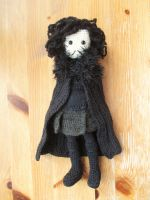 Game of Thrones: Jon Snow Crochet Doll by fourthimbles