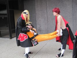 Deidara and Sasori: Teamwork by Maru-sha