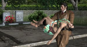 Dragunov Carries Zafina by virtualsoles
