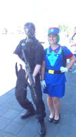 NF Comicon : Me and Officer Jenny by TheWarRises