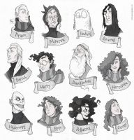 Faces - Harry Potter by Ripplen