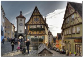 Rothenburg I by kiebitz
