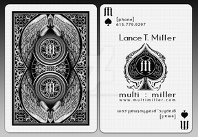 MultiMiller: Playing Card by multimiller
