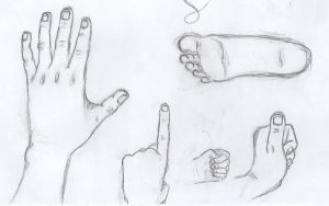 hands and foot by Marissa-Emily