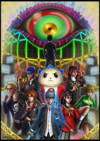 + Persona 4 Tribute + (Spoilers) by Lukael-Art