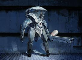 "P41 ""Lykan"" - Gauss Rifle Model by PHATandy"