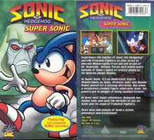Super Sonic 2002 - VHS Tape Cover by The-SatAM-Zone