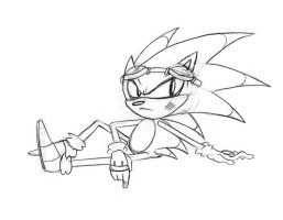 Sonic chillin by Malici0us