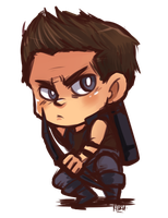 HAWKEYE by KiiruSama