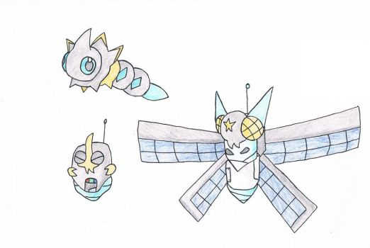 FAKEMON: Space bugs by Need-No-King